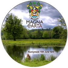 Magna Carta 800 8 inch Commemorative Plate, Bone China Limited edition REDUCED