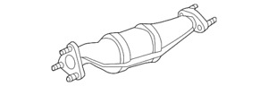 Genuine Nissan Catalytic Converter 208A2-9CE0A