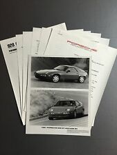 1991 Porsche 928 S4 & 928 GT PCNA issued Press Release RARE!! Awesome L@@K