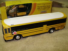Custom w/ your school! BNIB 1:54 Thomas Built bus Saf-T-Liner HDX diecast model