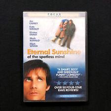 Eternal Sunshine Of The Spotless Mind 2004 Dvd Widescreen starring Jim Carrey