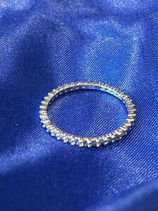 Swarovski Crystal Ring, Crystals All Around Brand New, Size 55