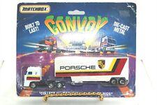 1987 Matchbox Convoy Porsche DAF 3300 Cab Low Bed Trailer Truck