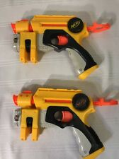 Nerf N Strike EX-3 Night Finder Soft Dart Gun Set of 2 Blaster Handgun Pistol
