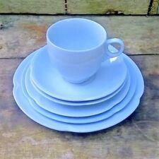 Cups & Saucers Blue Vintage Original Pottery