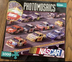 Buffalo Games Photomosaics NASCAR 1000 Piece Jigsaw Puzzle
