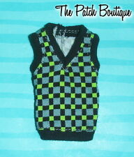 MONSTER HIGH 1ST ORIGINAL JACKSON JEKYLL BOY DOLL OUTFIT REPLACEMENT VEST ONLY