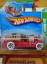 Hot Wheels Treasure Hunt Old Number 5.5 2010-060 Bomberos (CP19)
