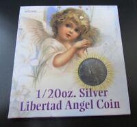 2003 Mexico 1/20 OZ Silver Libertad Angel Coin
