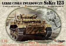 SdKfz.123  LIGHT RECCE TANK - LUCHS , MIRAGE HOBBY 3551008, SCALE 1/35