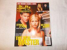 Buffy The Vampire Slayer UK Magazine Issue 11 August 2000 Joss Whedon