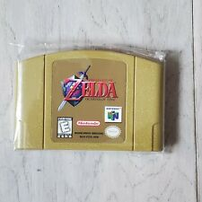 The Legend of Zelda Ocarina of Time *Gold Video Game For Nintendo 64 N64