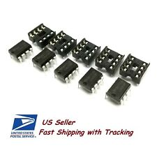 5 x LM358 LM358P Dual Op-Amp DIP-8 IC with Sockets - US Seller Fast Shipping