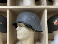 Original German WW II M42 Helmet w/ Liner  (Finnish Armed Forces Used)  ET 66
