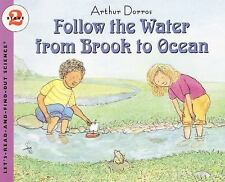 Follow the Water from Brook to Ocean BRAND NEW BOOK SCIENCE AGS 5-9