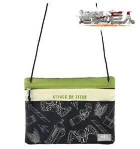 Attack on Titan x MEI Sacoche Shoulder Crossbody Bag Shingeki no Kyojin