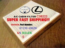 Cabin Air Filter For TOYOTA 01-07 Highlander / LEXUS 01-05 IS300 / 99-03 RX300