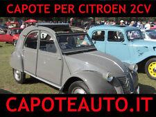 Capote cappotta Citroen 2 Cv cavalli Pvc con telaio e vetro apertura int o  est