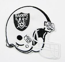 LOT OF (1) NFL OAKLAND RAIDERS FOOTBALL HELMET PATCH PATCHES (LARGE) ITEM #  28