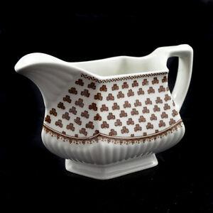 Adams Sharon / Sauciere Gravy Sauce Boat 2 / Englische Keramik English Ironstone