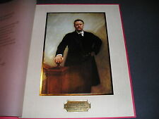 White House Richard Nixon 1972 VIP Large Christmas Card Gift Print Roosevelt