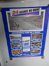 Le Mans Cicuit 1991 Event Calendar Poster