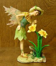 Faerie Glen Faeries FG833 Jonquilla, 2005 Flower Coll. NEW/Box From Retail Store