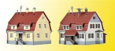 36782 Kibri Z Gauge Kit of Settlement houses from the 1920´s, 2 pieces