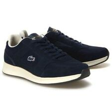 LACOSTE JOGGEUR Sneakers Uomo EU 44 Blu Navy Off White Camoscio e Tela € 149 45851c50edf