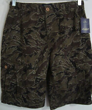 LUCKY BRAND TEEN'S CARGO SHORT SIZE 16-CAMOUFLAGE STYLE- NWT-FREE SHIPPING