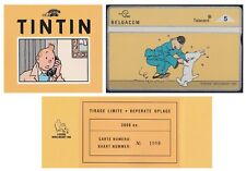 Belgium 1995 - TINTIN by Herge Collector Phone card - Limited Edition......X3500