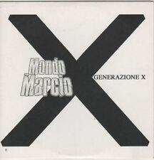 Mondo Marcio – Generazione X Cd Single Promo 2007 Cardsleeve NM One Track