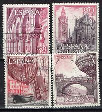 Spain Famous Architecture Monasteries Castles stamps set 1965