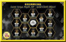 Bandai Saint Seiya 30th Docks at HK Myth AP - Gold Cloth Object (Set of 12)