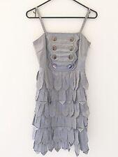 Beautiful BURBERRY LONDON Beautiful Sterling Gray Dress Size XS/Small