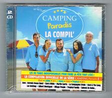 ♫ - CAMPING PARADIS LA COMPIL' - 2 CD SET - 40 TITRES - 2014 - NEUF NEW NEU - ♫