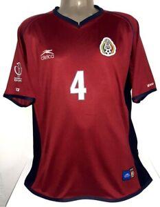ATLETICA MEXICO 3RD WC2002 MARQUEZ 2XL ORIGINAL JERSEY SHIRT