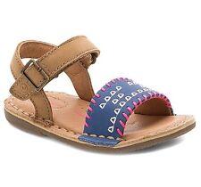 STRIDE RITE SR Filipa Tan Navy Pink Girls Shoes Sandals BG54952 Size 4M NIB