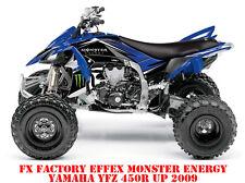 FX Effex Factory yamaha yfz 450r à partir de 2009 Monster Energy Graphic Kit la marchandise en stock