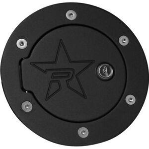 For 2007-2017 Toyota Tundra RBP RX-2 Black Powder Coated Lock Fuel Door