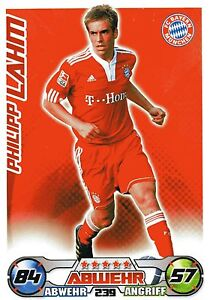 239 Philipp Lahm - FC Bayern München - TOPPS Match Attax 2009/2010