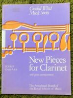 New Pieces For Clarinet Book 2 (Grades 5-6): Graded Wind Series ABRSM 1978 +Part