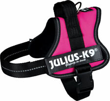 Julius-k9 Powergeschirr Mini M fuchsia 51-67 cm Hunde Geschirr atmungsaktiv