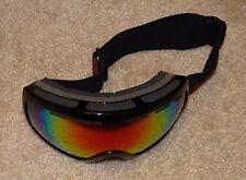 DEFECT: MORROW miramax spherical red revelation mirror Ski Goggles