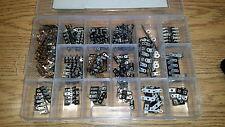 Terminal Strip Kit, Brass Tin Dipped, 201 pieces, 16 different (TS201)