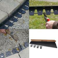 48 ft. paver edging project kit in black | proflex spikes heavy duty outdoor new