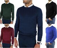 maglione maglioni maglia cardigan pullover da uomo lana m l xl xxl invernale blu