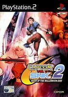 Capcom Vs Snk 2 PS2 PlayStation 2 Video Game Original UK Release