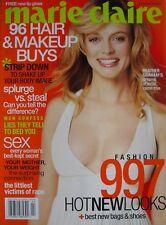 HEATHER GRAHAM February 2003 MARIE CLAIRE Magazine