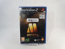 SINGSTAR MOTOWN SONY PS2 PLAYSTATION 2 PAL ITALIANO ORIGINALE NUOVO SIGILLATO